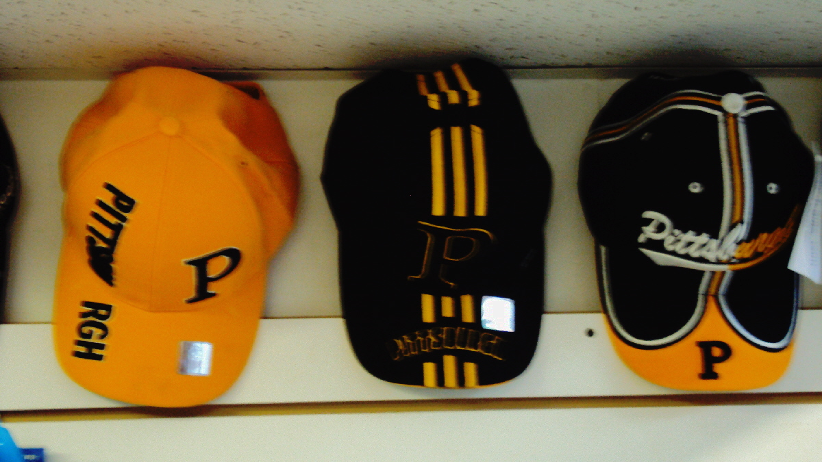 Steelers hats.