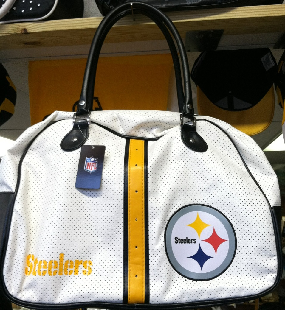 Steelers White (Mesh leather)