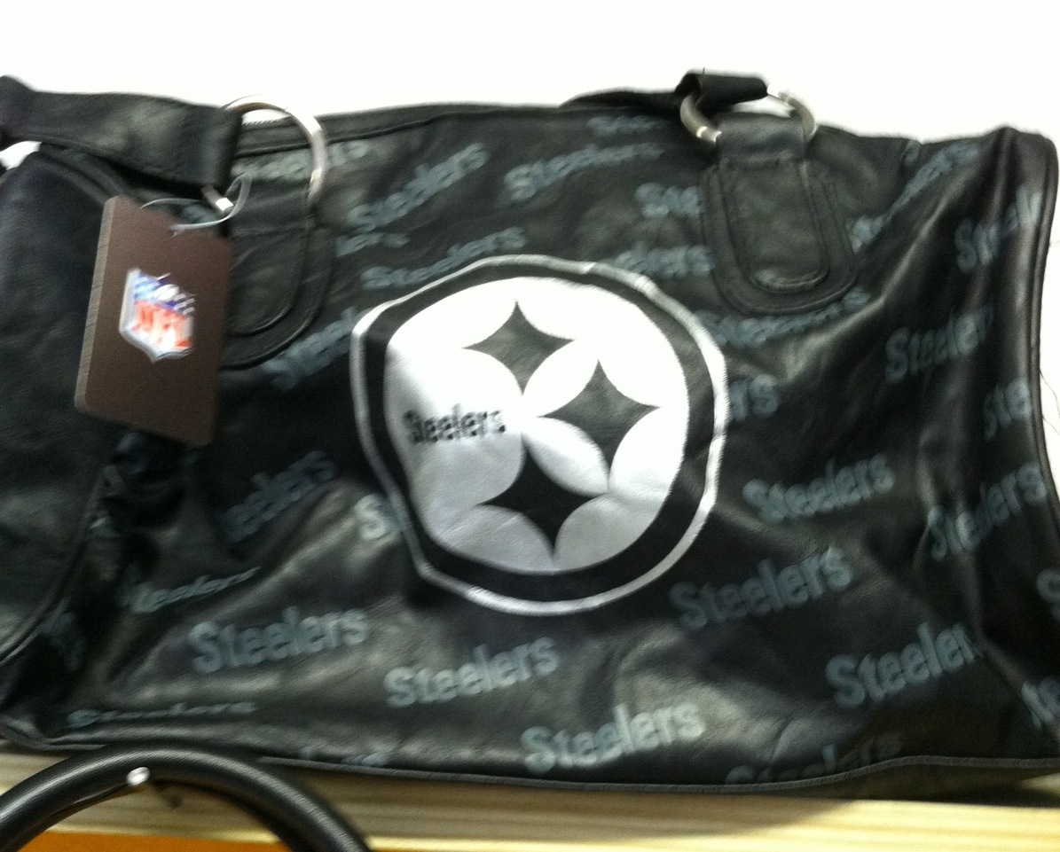 Steelers Black and Silver (Leather)